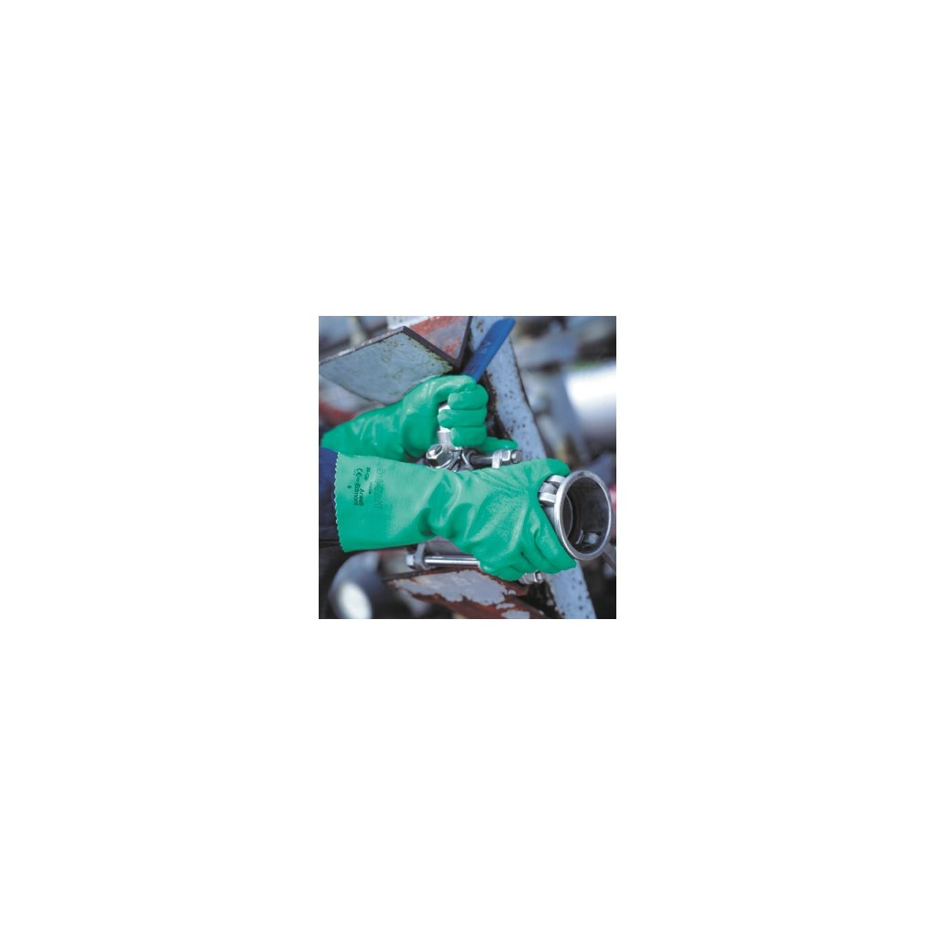 CRV ANSELL 39-124 Sol-Knit - CHEMICKÝ ODOLNÉ OCHRANNÉ RUKAVICE