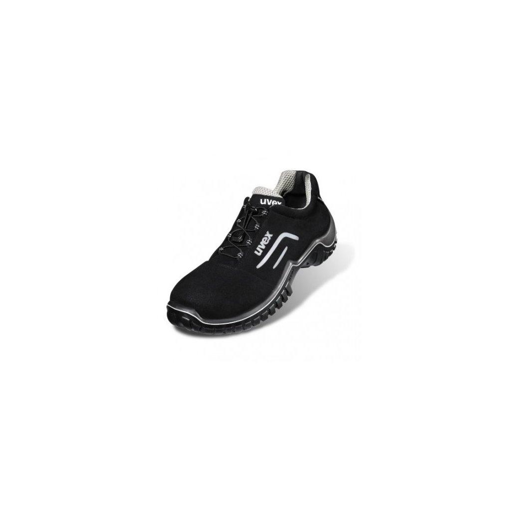 Bezpečnostná pracovná obuv v prevedení poltopánok s bezpečnostnou špičkou  UVEX MOTION STYLE 6978 S2 SRC ( 8283b515f9