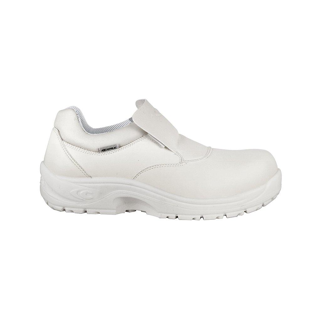 76ce7762a8851 Kvalitná biela bezpečnostná obuv S2 TULLUS S2 SRC