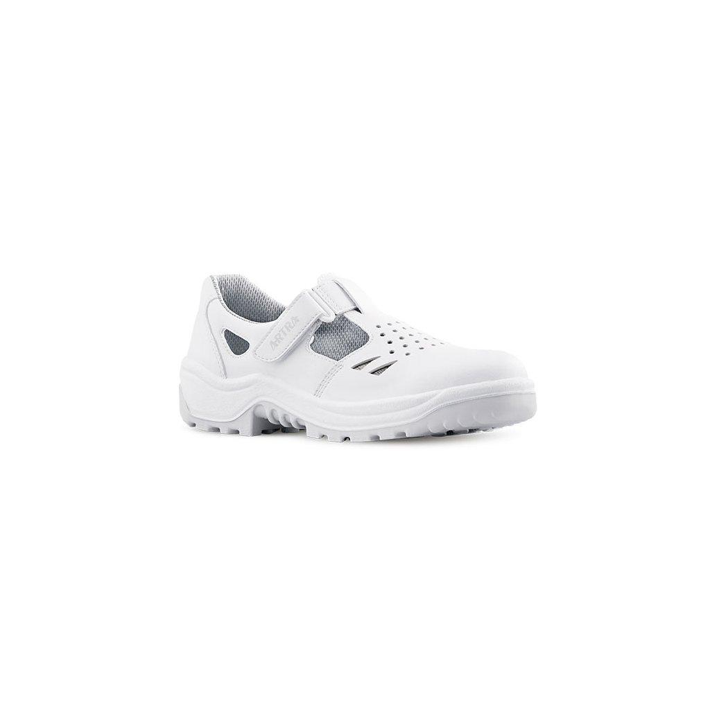 e752dab988ce Biele bezpečnostné sandále s oceľovou špičkou ARMEN 900 1010 S1 SRC  (Veľkosť 48)