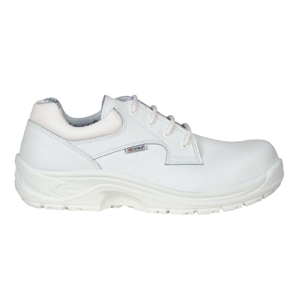 2ef4f7abf03b2 Biela bezpečnostné obuv S2 výrobcu COFRA model ADRIANUS WHITE S2 SRC
