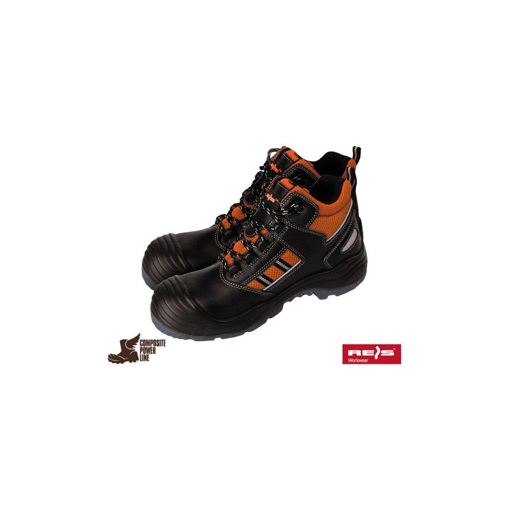 ff1303d97c4c Celoročná pracovná členková obuv značky REIS kategórie S1P SRC ...