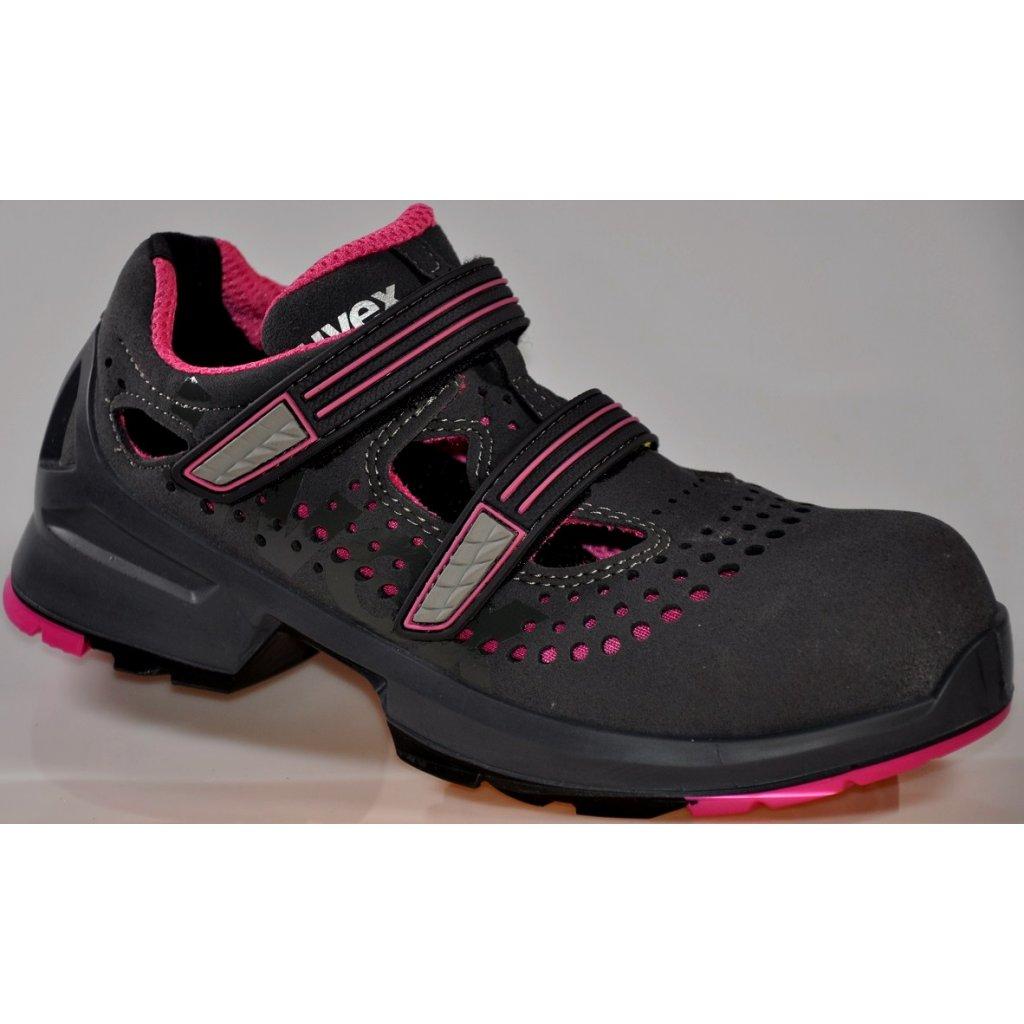 3702c2739 ... Dámska pracovná obuv S1 výrobcu UVEX v modele UVEX 8560 S1 SRC ...