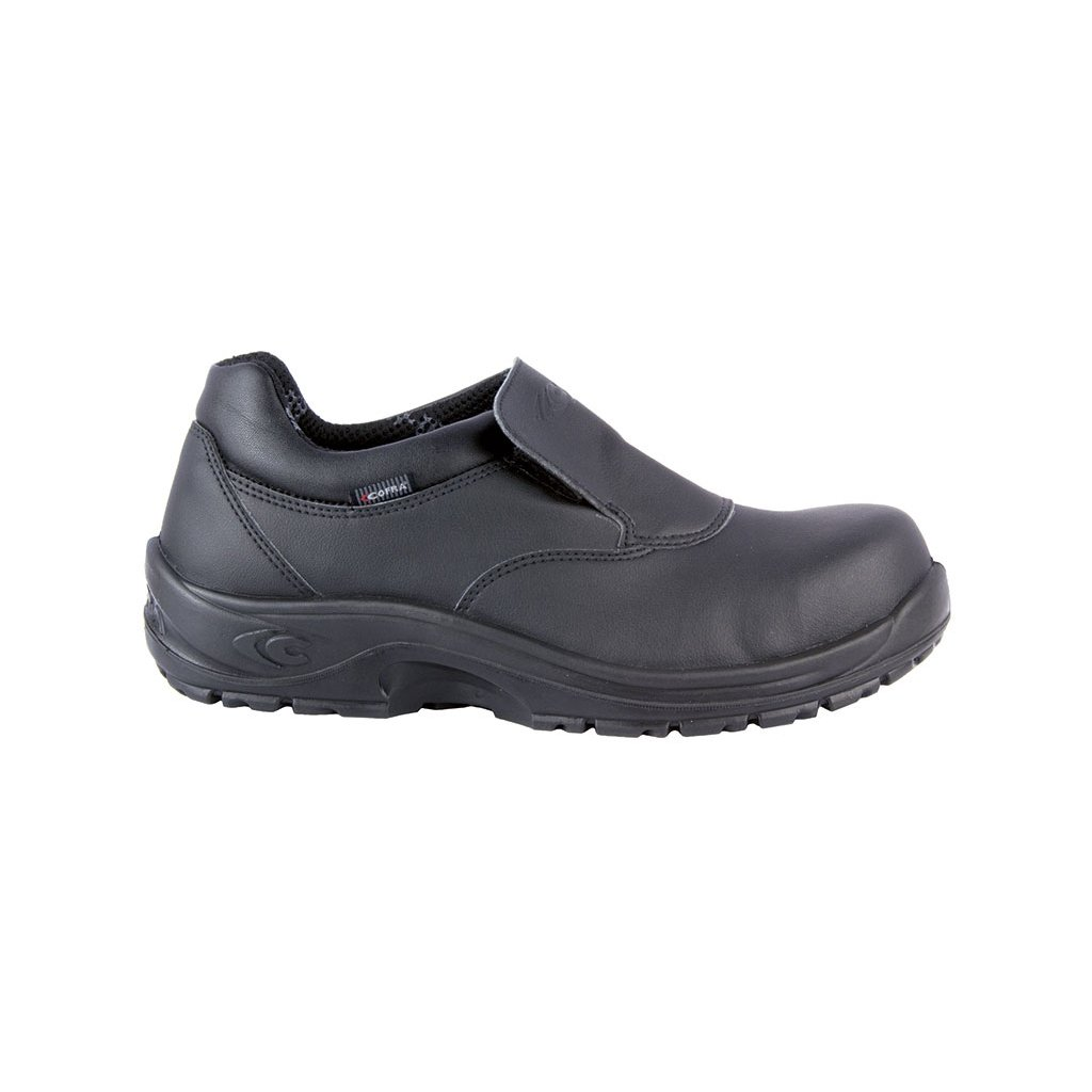 e7fd1ec7254fd čierna bezpečnostná obuv COFRA model Flavius