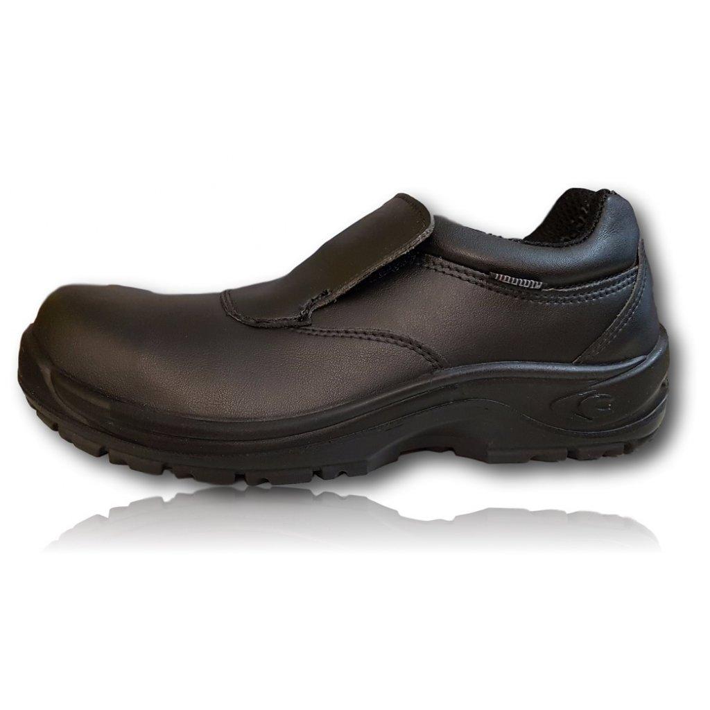 3a1187aa5b7ec ... Bezpečnostná pracovná obuv výrobcu COFRA model TIBERIUS S3 SRC bočný  pohľad ...