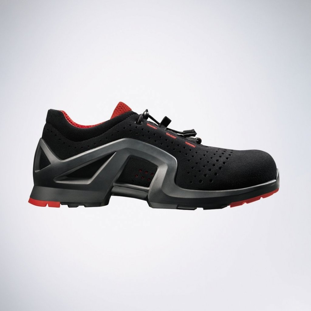 f098ff302 ... Moderná pracovná obuv UVEX s bezpečnostnou kompozitnou odľahčenou  špičkou 8512 S1 SRC (Veľkosť 52) ...