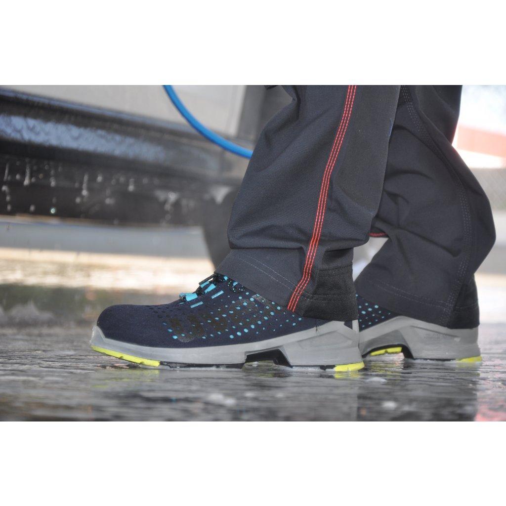 3f570095b ... Bezpečnostná kotníková obuv dámska s bezpečnostnou špičkou UVEX S1 ESD  8563 (4) ...