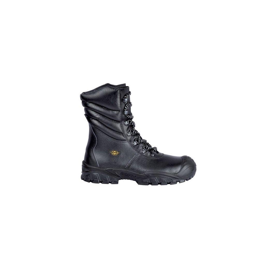e96efca66ce7c Vysoká zateplená kožená pracovná obuv s oceľovou špičkou NEW URAL UK S3 CI  SRC originálne foto