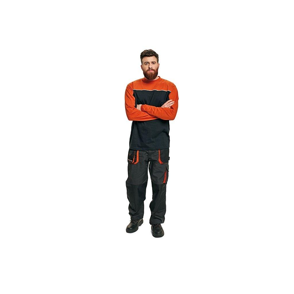 af7ae0384b4e Pánske tričko s dlhým rukávom EMERTON