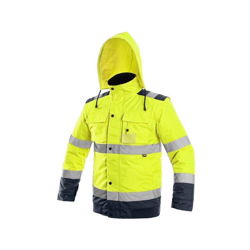 Pánska zimná výstražná bunda 2v1 LUTON