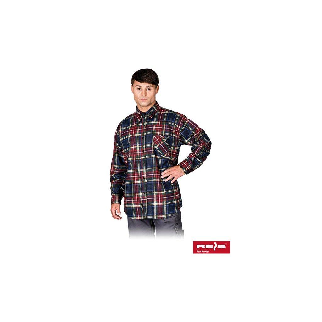 629db251945d RAW REIS  Flanelová košeľa KF MC - LIFETIME