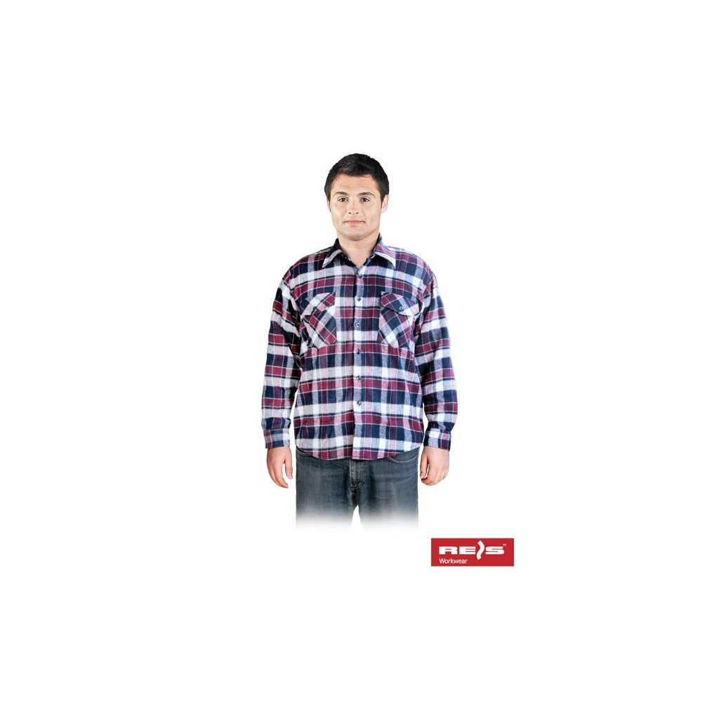 6ffeee088cf1 RAW REIS  Flanelová košeľa KFLUX DC - LIFETIME