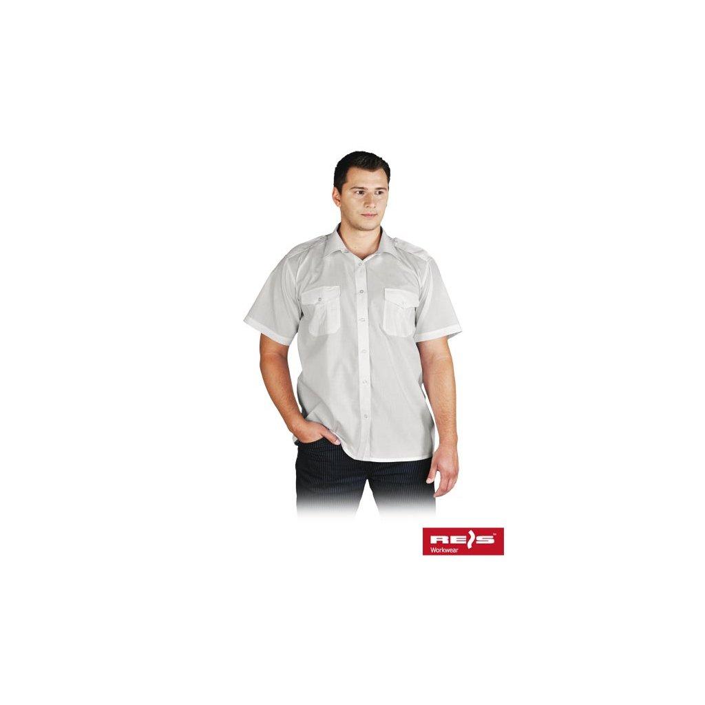 RAW REIS: Košeľa s krátkym rukávom KWSKR W