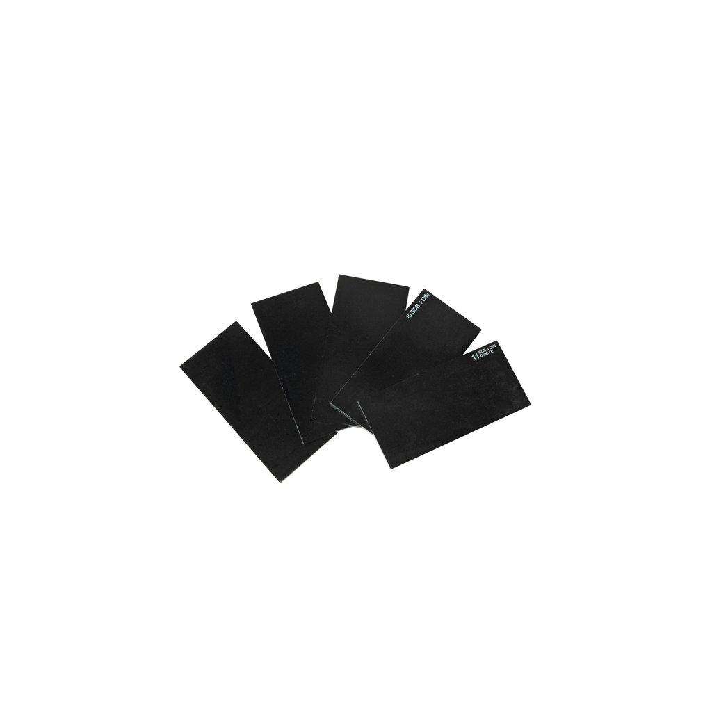 CRV : Zváračské sklo 110x90 číre
