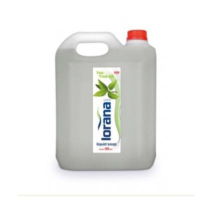 CRV : LORANA tekuté mydlo Tea Tree oil 5 l