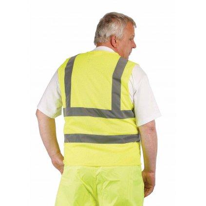 CRV - QUOLL reflexná vesta žltá  0303 0048 70