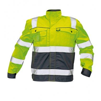 CRV - COLYTON bunda žltá  0301 0099 70
