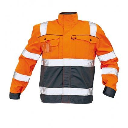 CRV - COLYTON bunda oranžová 0301 0099 90