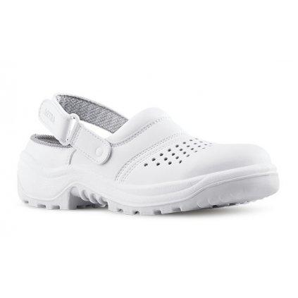 8ec4ad40b14f Biele bezpečnostné sandále ARNO 901 AIR 1010 OB A E FO SRC (Veľkosť 48)