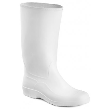 Biele pracovné gumáky lisované ARTRA 8111  1 (Veľkosť 9)