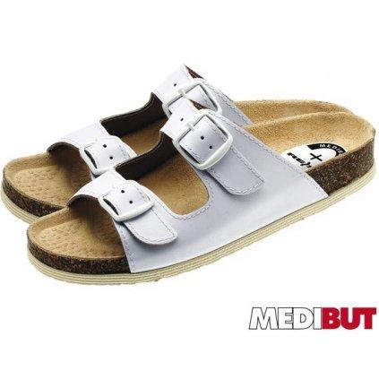 ec28e21fc89c Pracovná obuv biela MEDIBUT   BMKLAKOR2PAS W 40 (Farba Biela