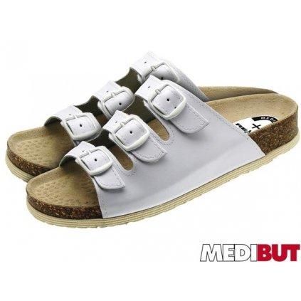d20064f22c5d Pracovná obuv biela MEDIBUT   BMKLAKOR3PAS (Farba Biela