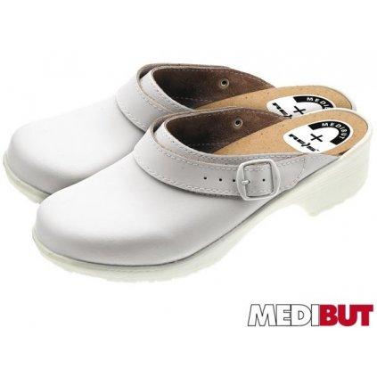 Pracovná obuv sandále : MEDIBUT :BMSPECPAS (Farba Biela, Veľkosť 44)