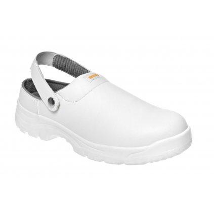 ZS - BNN WHITE: Nazúvak SB Slipper  Z31083 (Farba Biela, Veľkosť 44)