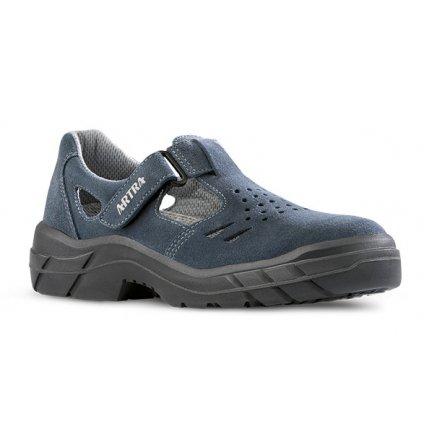Pracovné sandále bez oceľovej špičky  ARMEN 900 9360 O1 FO SRC (Veľkosť 48)