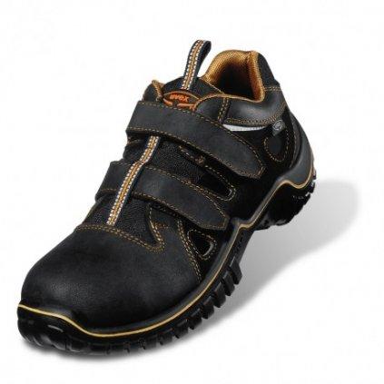 Pracovné sandále s bezpečnostnou odľahčenou špičkou UVEX 6980 S1 SRC (Veľkosť 48)