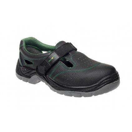 ce4e36ecd05da ZS - ADM CLASSIC: Sandále O1 C90023 (Veľkosť 48, Farba čierna)