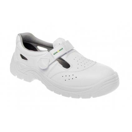 ZS - ADM WHITE: Sandále S1 C11006 (Farba Biela, Veľkosť 44)