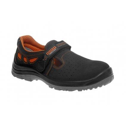 ZS - BNN LUX: Sandále S1  Z91002 (Farba čierna, Veľkosť 35)