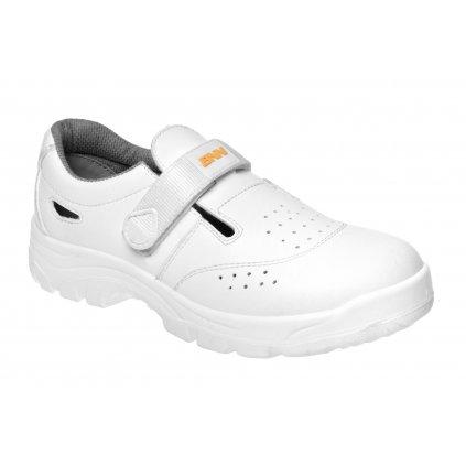 ZS - BNN WHITE: Sandále O1  Z30080 (Farba Biela, Veľkosť 44)