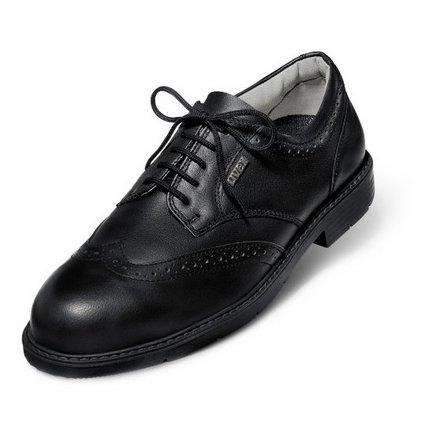 Elegantná pracovná obuv do kancelárie s bezpečnostnou špičkou UVEX 9541 S1 SRA (Veľkosť 47)