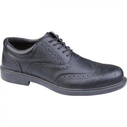 Manažerska pracovná obuv výrobcu Delta plus v modele RICHMOND S1