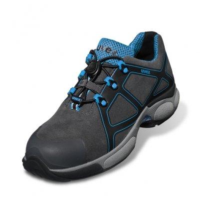 Moderná pracovná obuv s bezpečnostnou špičkou, planžetou proti prierazu podrážky a protišmykovou podrážkou  UVEX XENOVA ATC 9500 S3 SRC (Veľkosť 50)