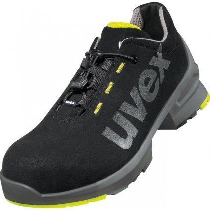 Moderná, športovo ladená pracovná obuv s odľahčenou bezpečnostnou  špičkou UVEX 8544 S2 SRC (Veľkosť 52)