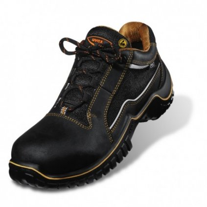 Pracovná obuv kožená s kompozitnou špičkou UVEX MOTION LIGHT 6982 S1 SRC (Veľkosť 48)