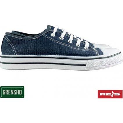 Trampky rekreačné značky GRENSHO (Farba Modrá, Veľkosť 44)