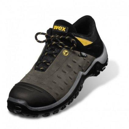 UVEX ATC PRO: Poltopánka 9457 S2 HRO SRC (Veľkosť 48, Farba čierna)