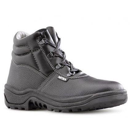 Čierna bezpečnostná obuv S1 od výrobcu ARTRA v modele ARAUKAN 940 6060 S1 SRC (Veľkosť 48)