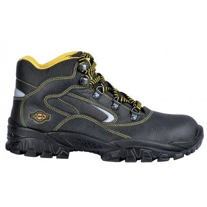 Členková bezpečnostná obuv s oceľovou špičkou a bezpečnostnou medzipodrážkou  COFRA  NEW EUFRATE S3 SRC : TALIANSKÁ VÝROBA (Veľkosť 48)