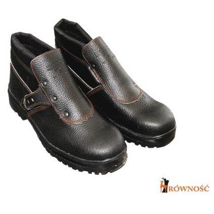 RW00 - BRCZ-HRO212 Bezpečnostná členková obuv (Veľkosť 47 968604bacd7