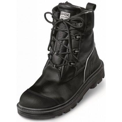 UVEX ORIGIN: Celá topánka 8454 S3 HI CI HRO SRC (Veľkosť 48, Farba čierna)