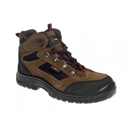 ZS - ADM BAXTER: Členková obuv O1 high  C20216 (Veľkosť 48, Farba čierna)