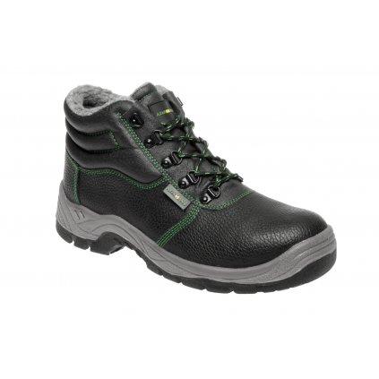 ZS - ADM CLASSIC: Členková obuv O2 Winter high  C30219 (Veľkosť 48, Farba čierna)