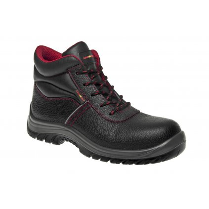 ZS - ADM NON METALLIC: Členková obuv S3 High  C23214 (Veľkosť 47, Farba čierna)
