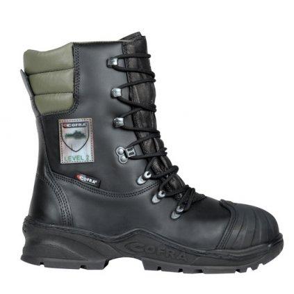 Pilčícka bezpečnostná obuv triedy 2 s bezpečnostnou špičkou COFRA POWER A E P FO WRU HRO SRC : TALIANSKÁ VÝROBA (Veľkosť 48)