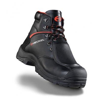 Pracovná obuv pre oceliarne a zlievárne vysokej kvality Heckel MACSOLE® EXTREM 2.0 - MACSILVER INTEGRAL (Farba čierna, Veľkosť 36)